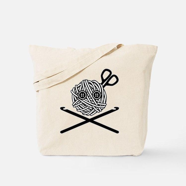 Pirate Crochet Tote Bag