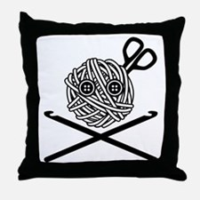 Pirate Crochet Throw Pillow