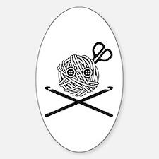Pirate Crochet Decal