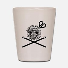 Pirate Crochet Shot Glass