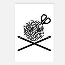 Pirate Crochet Postcards (Package of 8)