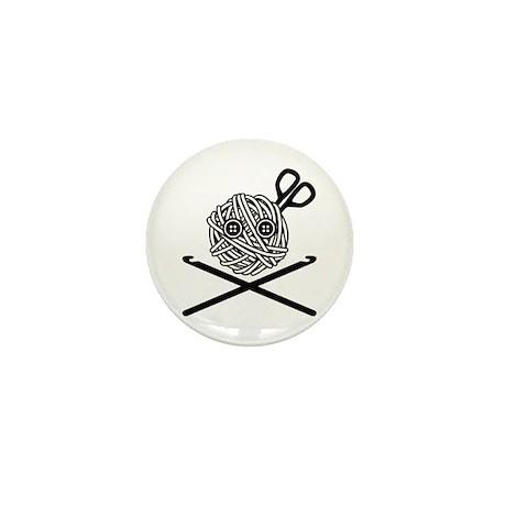Pirate Crochet Mini Button (10 pack)