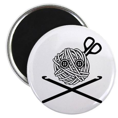 Pirate Crochet Magnet