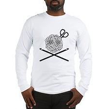 Pirate Crochet Long Sleeve T-Shirt