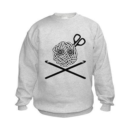 Pirate Crochet Kids Sweatshirt