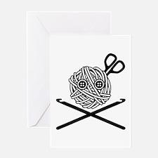 Pirate Crochet Greeting Card