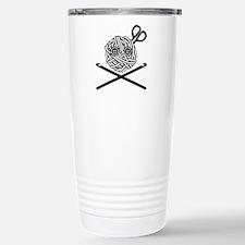 Pirate Crochet Travel Mug
