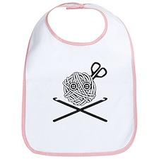 Pirate Crochet Bib