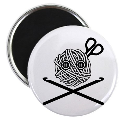 "Pirate Crochet 2.25"" Magnet (10 pack)"