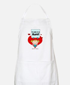 I'm Gonna Be An Aunt Apron