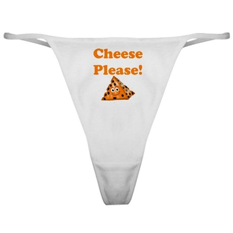 Cheese Please! Classic Thong