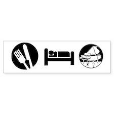 Eat Sleep Piano Bumper Sticker