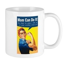 Mom as Rosie the Riveter Mug