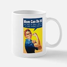 Mom as Rosie the Riveter Mug