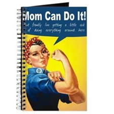 Mom as Rosie the Riveter Journal