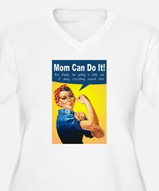 Mom as Rosie the Riveter T-Shirt
