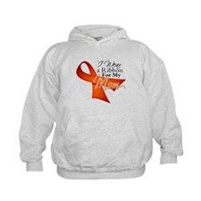 Mom Leukemia Ribbon Hoodie