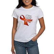Mom Leukemia Ribbon Tee
