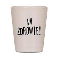 Na Zdrowie Polish Shot Glass