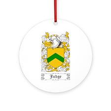 Judge Ornament (Round)