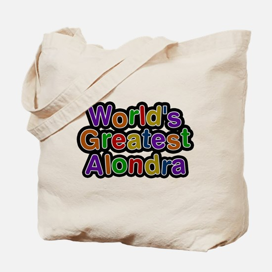 Worlds Greatest Alondra Tote Bag