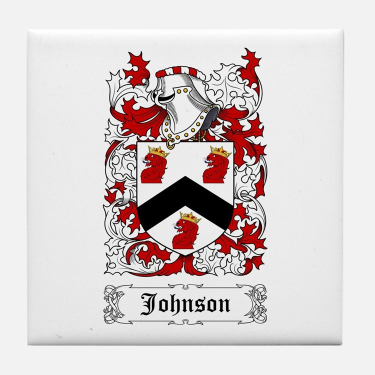 Johnson I Tile Coaster