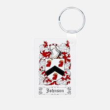 Johnson I Aluminum Photo Keychain