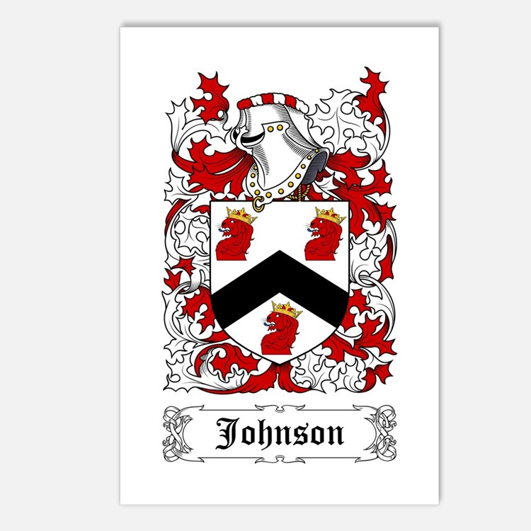 Johnson I Postcards (Package of 8)