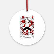 Johnson I Ornament (Round)
