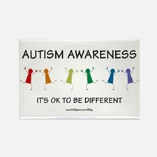 Autism Difference Rectangle Magnet