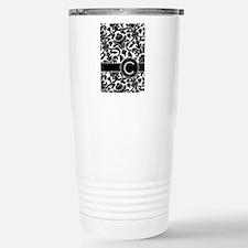 Monogram Letter C Travel Mug