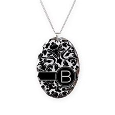 Monogram Letter B Necklace