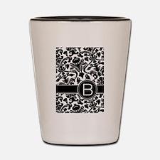 Monogram Letter B Shot Glass