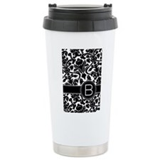 Monogram Letter B Travel Mug