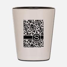Monogram Letter S Shot Glass
