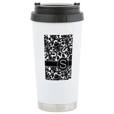 Monogram Letter S Travel Mug