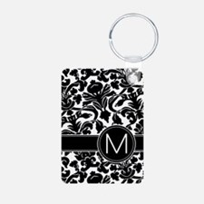 Monogram Letter M Keychains