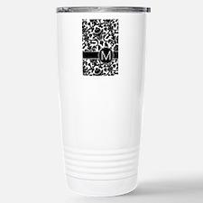 Monogram Letter M Travel Mug