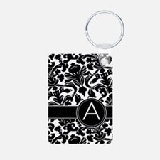 Monogram Letter A Keychains