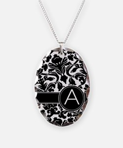 Monogram Letter A Necklace