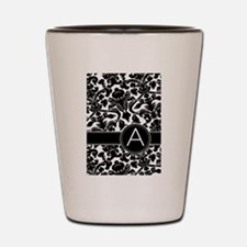 Monogram Letter A Shot Glass