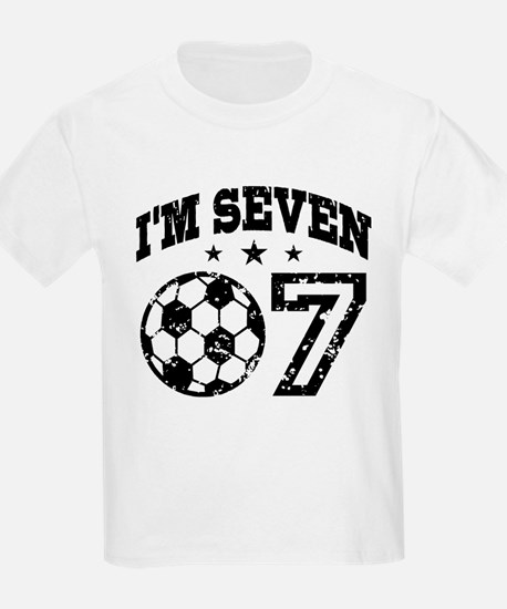 Seven Year Old Soccer T-Shirt