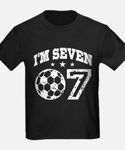 Seven Year Old Soccer T