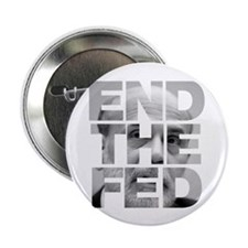 "End the Fed Bernanke 2.25"" Button (100 pack)"