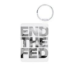 End the Fed Bernanke Keychains