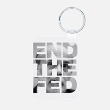 End the Fed Bernanke Keychains