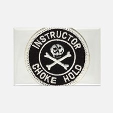Choke Hold Instructor Rectangle Magnet