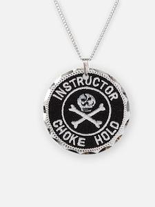 Choke Hold Instructor Necklace
