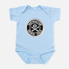 Choke Hold Instructor Infant Bodysuit