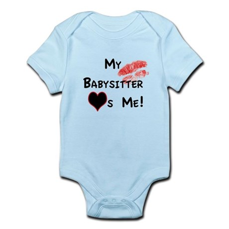 Babysitter Love Infant Bodysuit